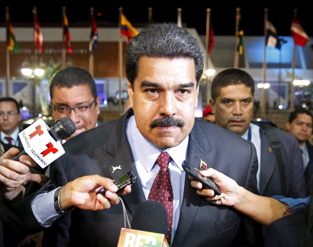 Venezuelan President Confronts Obama At Summit Of The Americas