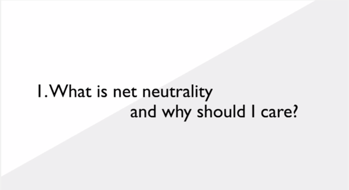 They make the argument that this issue is one every single Indian internet user should be worried about: The looming threat to net neutrality.
