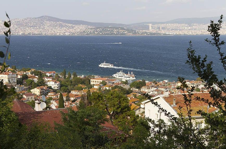 Heybeliada Island (Prince Islands) near Istanbul.
