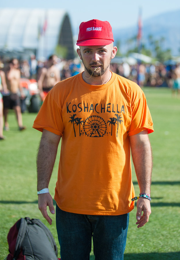 """Brent, who isn't quite sure how to ~spell~ """"Coachella."""""""