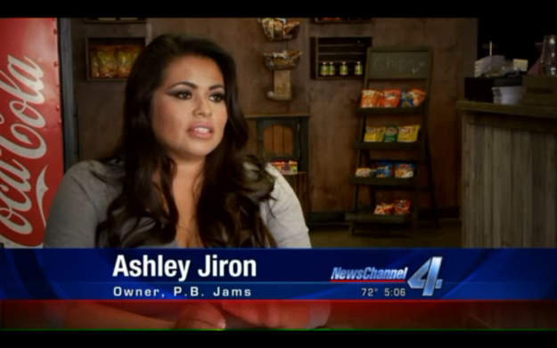 The Instagram photo got picked up by local news affiliate KFOR, which spoke with P.B. Jams' owner Ashley Jiron.