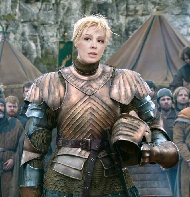 Claudia Raia, a Brienne de Tarth tupiniquim.