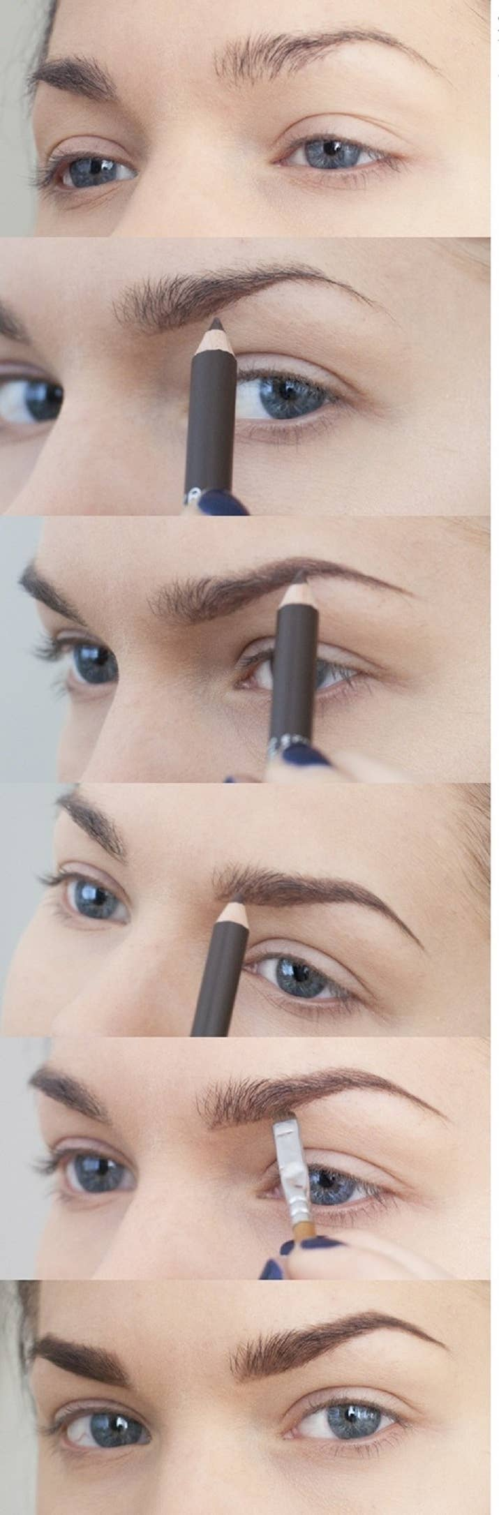 16 eyebrow diagrams that will explain everything to you 12 fill in thin brows with a pencil or use brow powder and a brush geenschuldenfo Choice Image