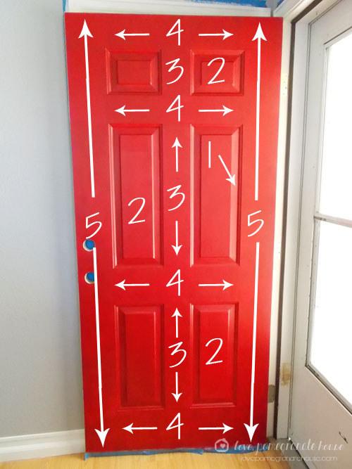 Here's the best way to paint a storm door: