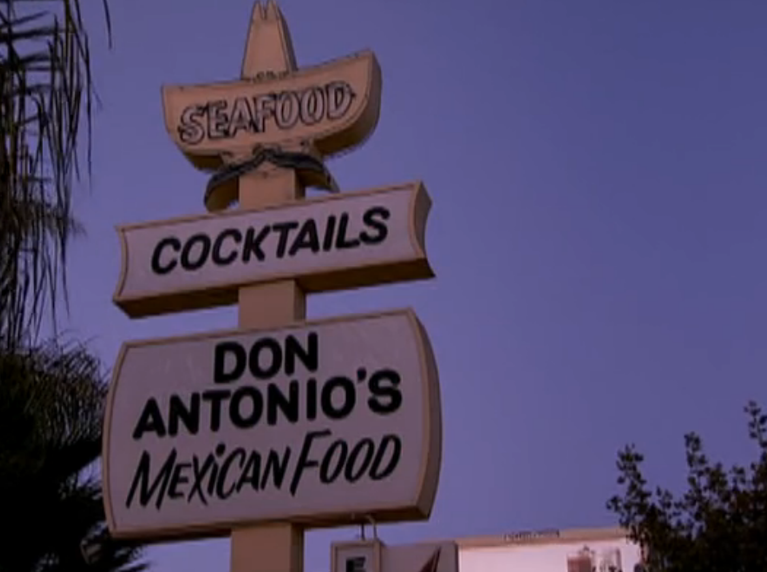 Don Antonio's as seen on the show.