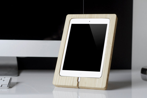 Prop up your tablet in a stand and – BAM! – instant workstation.