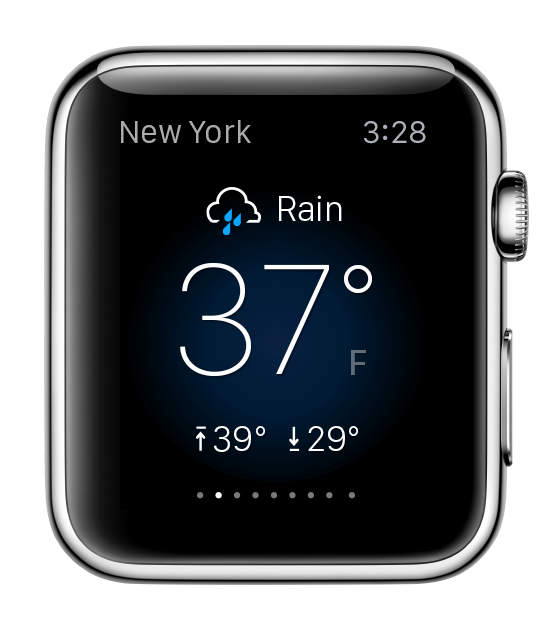 What Yahoo Weather, Fantasy, And News Digest Will Look Like On The Apple Watch