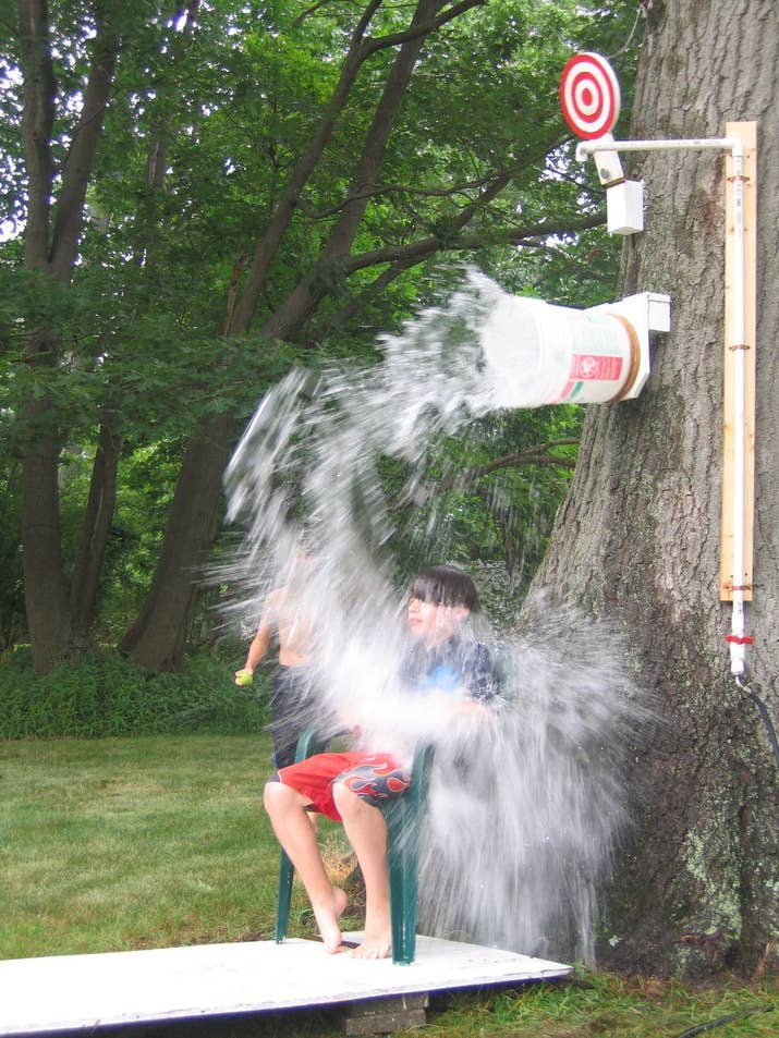 27 fun outdoor games youll want to play all summer long 1 dunk bucket solutioingenieria Choice Image