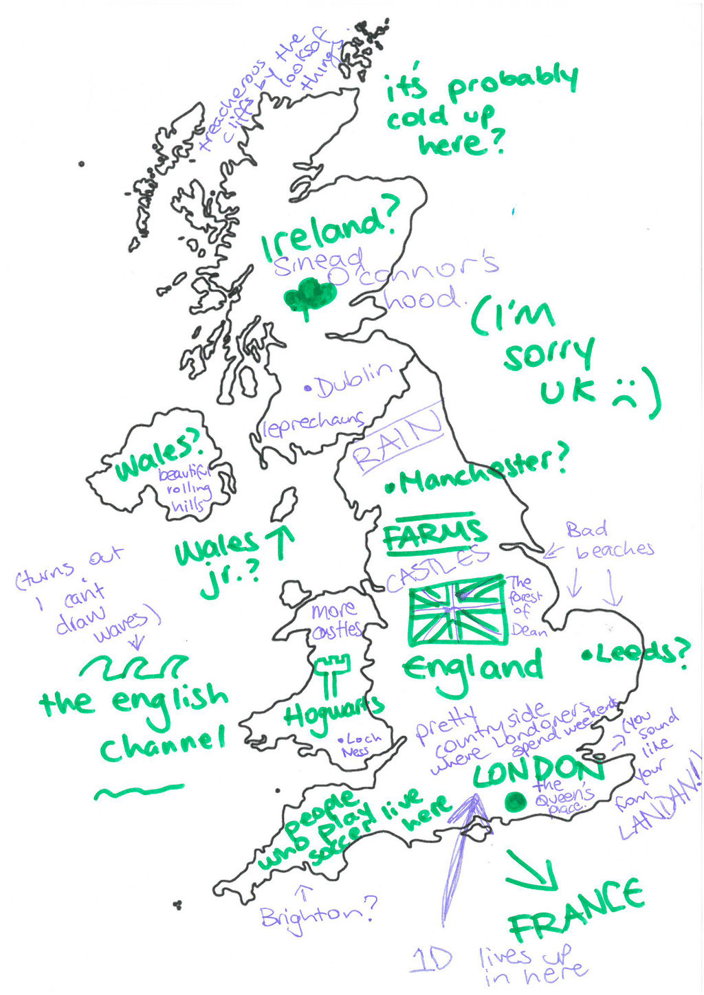 We Asked Australians To Label The UK And Were So Sorry
