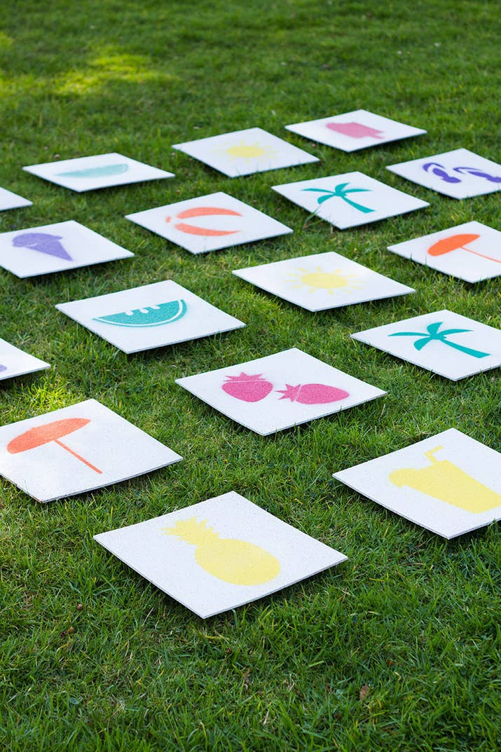 27 fun outdoor games youll want to play all summer long giant lawn matching game solutioingenieria Choice Image