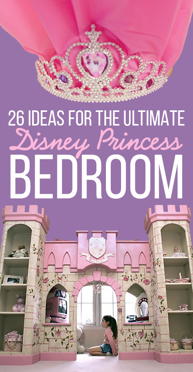 View this image. 26 Ideas For The Ultimate Disney Princess Bedroom