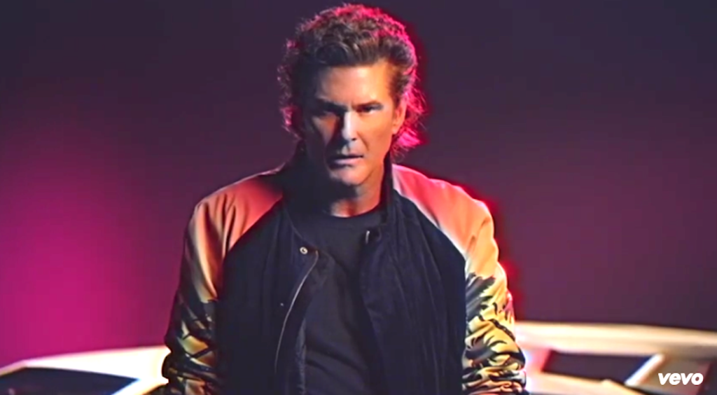 David Hasselhoff's New Music Video Has Hitler, Dinosaurs, And So Much '80s-Ness
