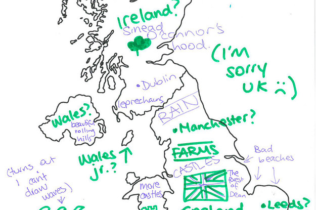 We Asked Australians To Label The UK And Were So Sorry - Buzzfeed uk map of us