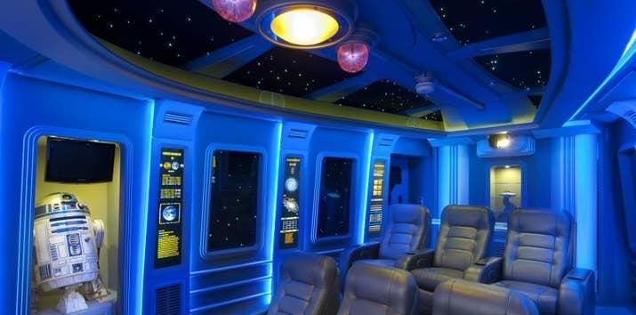 spaceship home theater