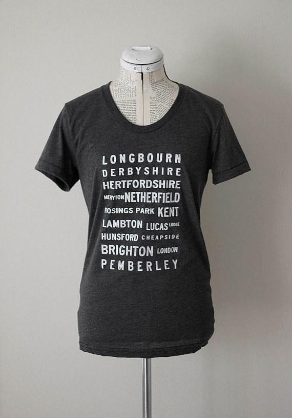 Pride & Prejudice Locales T-Shirt