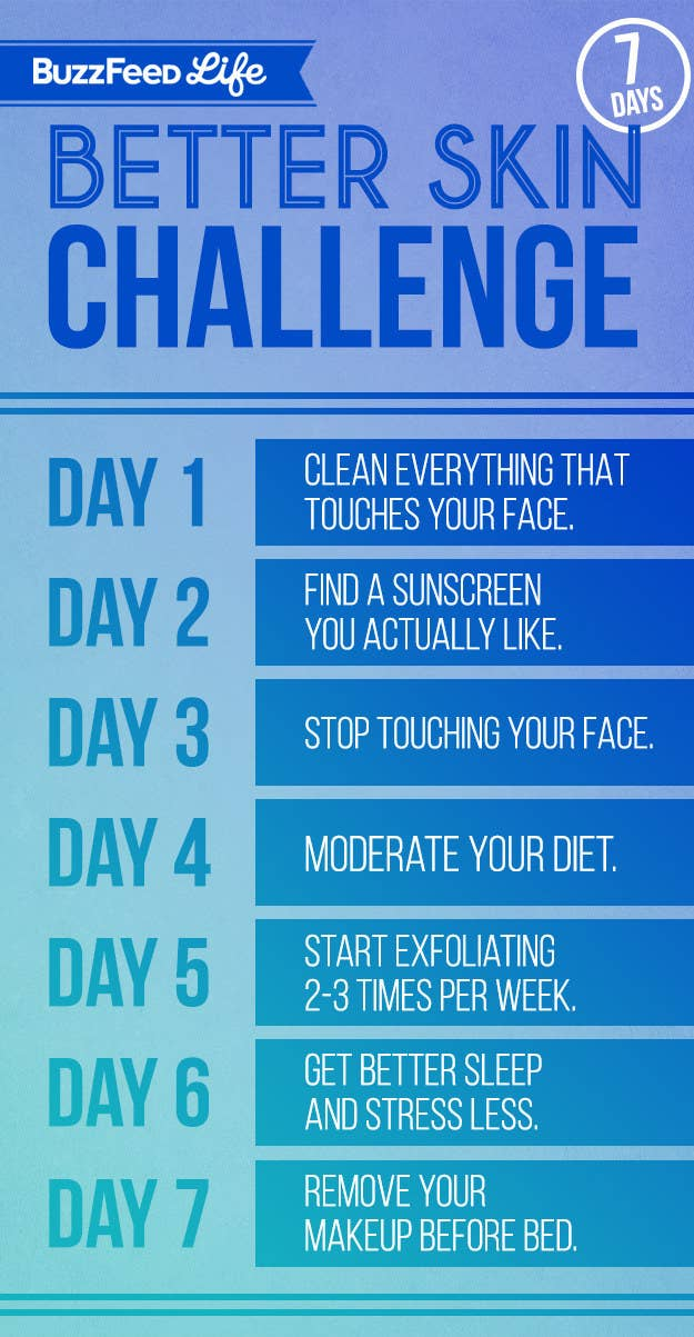 Take BuzzFeed's 7-Day Better Skin Challenge