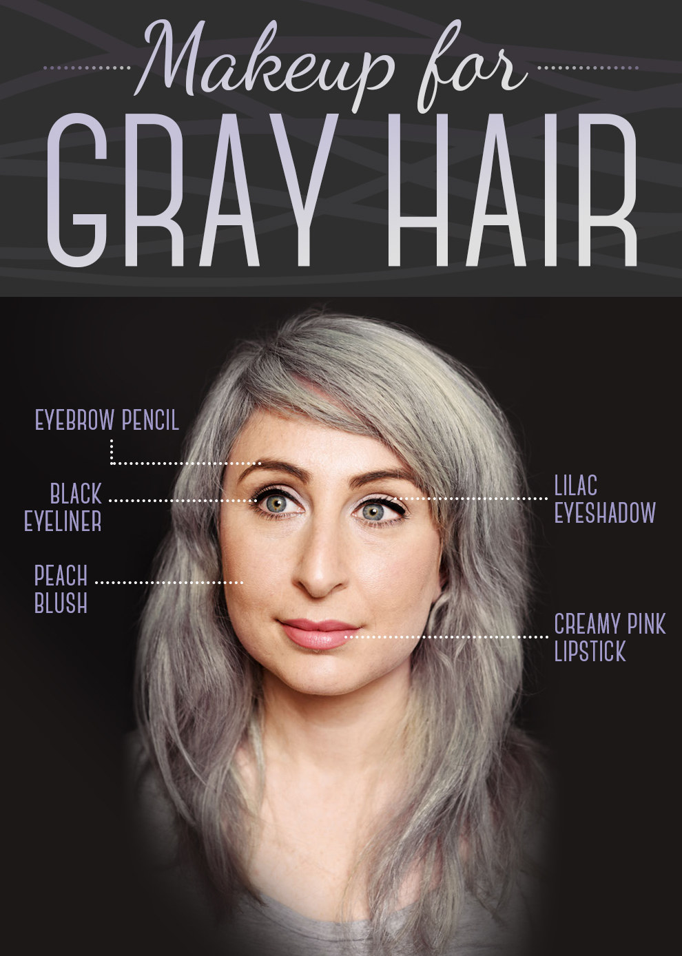 here is every little detail on how to dye your hair gray. Black Bedroom Furniture Sets. Home Design Ideas