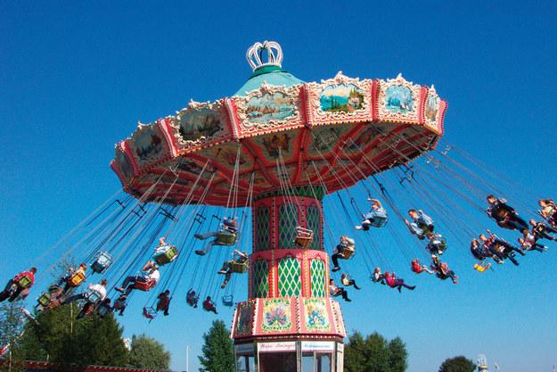 a visit to amusement park