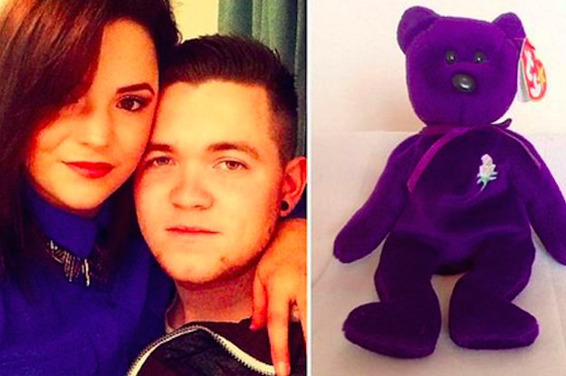 93a5cdc7b91 This Couple Says They Found The Rarest Beanie Baby At A Flea Market For  15