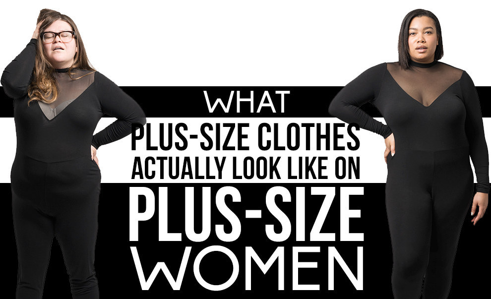 This Is What Plus Size Clothes Look Like On Plus Size Women