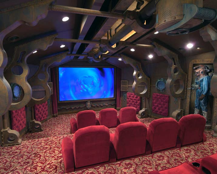 20000 leagues inspired home theater