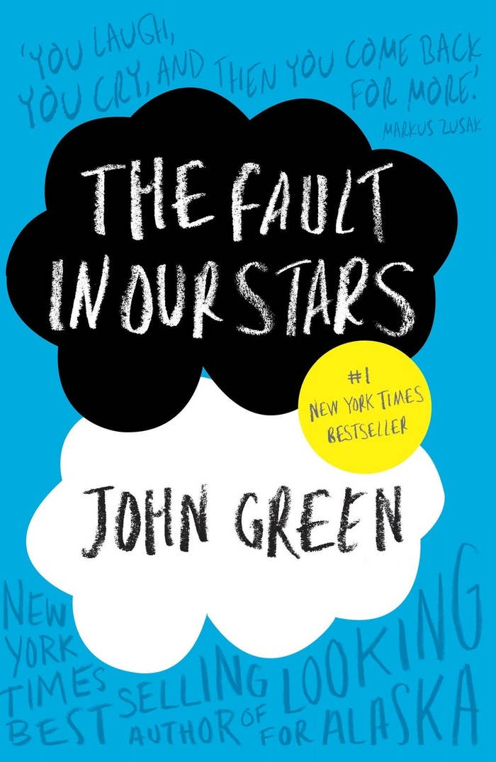 Technically John Green was an author first, but he was included in this listJohn's latest book, The Fault in Our StarsJanuary 2012