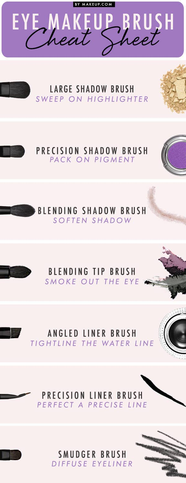 19 eyeshadow basics everyone should know 3 learn what all of your brushes are meant to do