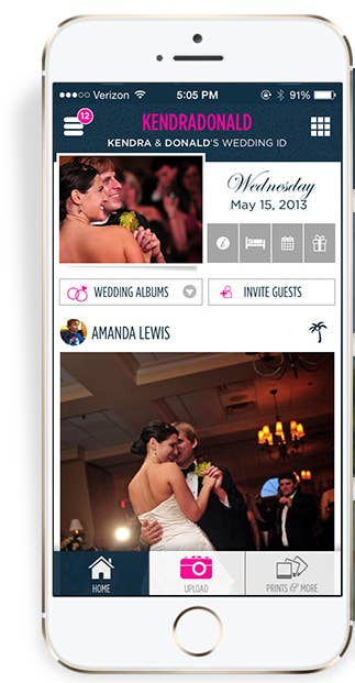 WedPics Free IOS And Android Is Another App That Offers Unlimited Photo Uploads By Guests To A Private Account