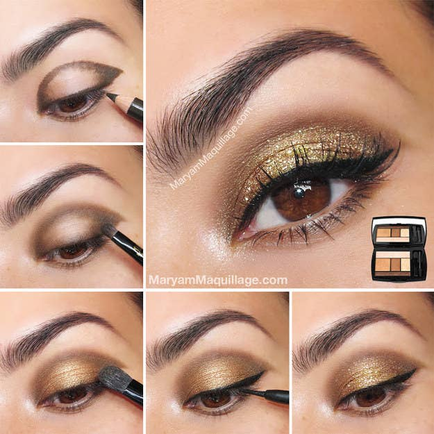 19 eyeshadow basics everyone should know or use an eyeshadow pencil to draw a defined shape first then gradually blend that out ccuart Images