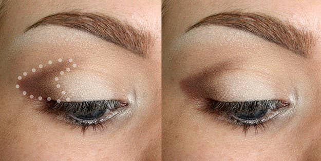 19 eyeshadow basics everyone should know dont be afraid to make a very defined shape first then blend it so the edges fade away ccuart Images