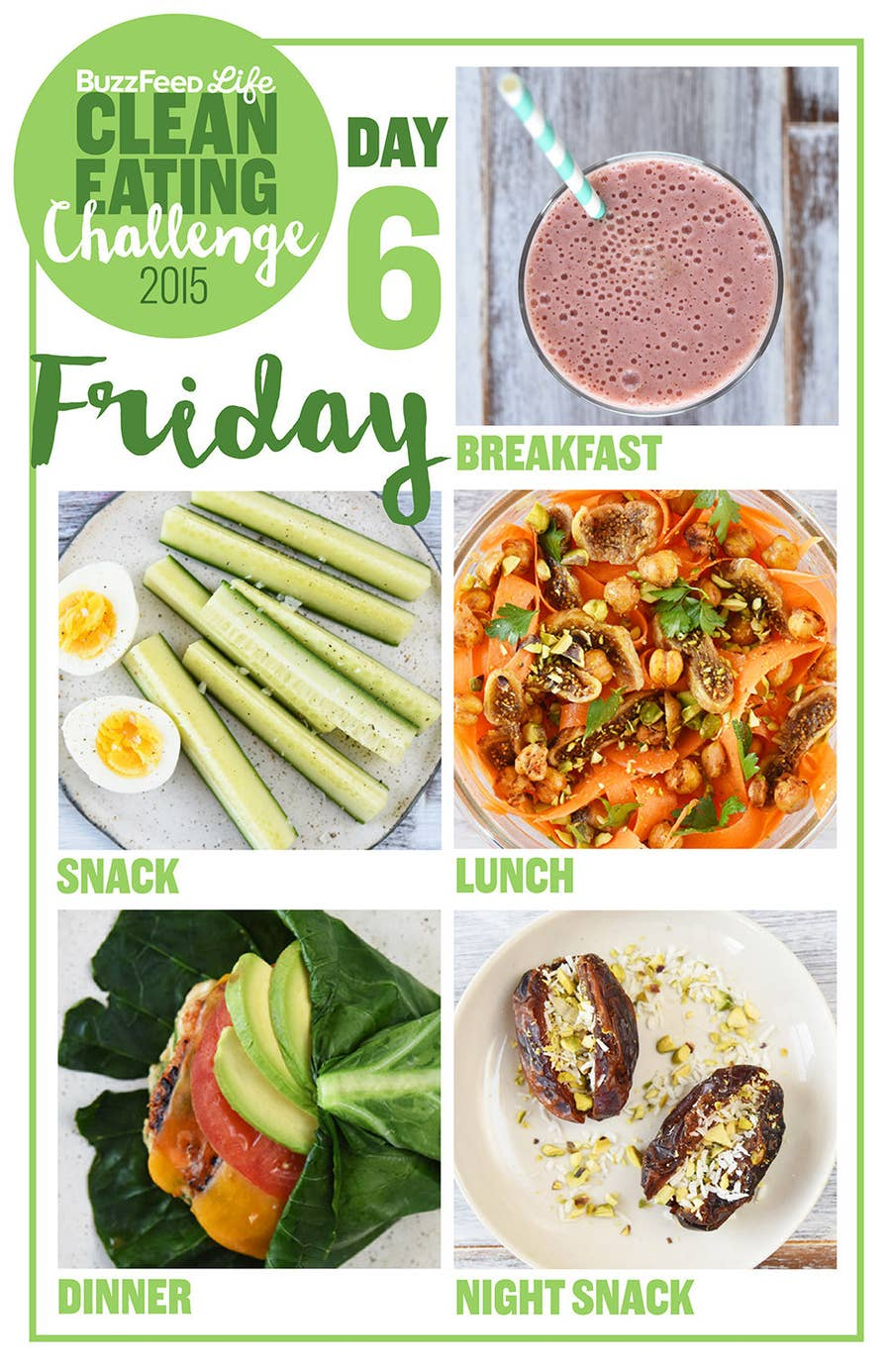 Here's A Two Week Clean Eating Challenge That's Actually Delicious