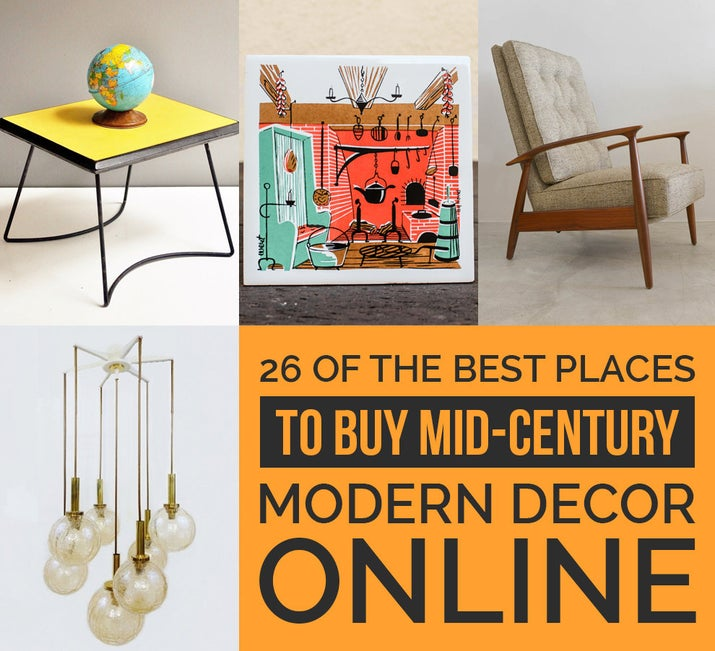 Mid Century Modern 26 of the best places to buy mid-century modern decor online