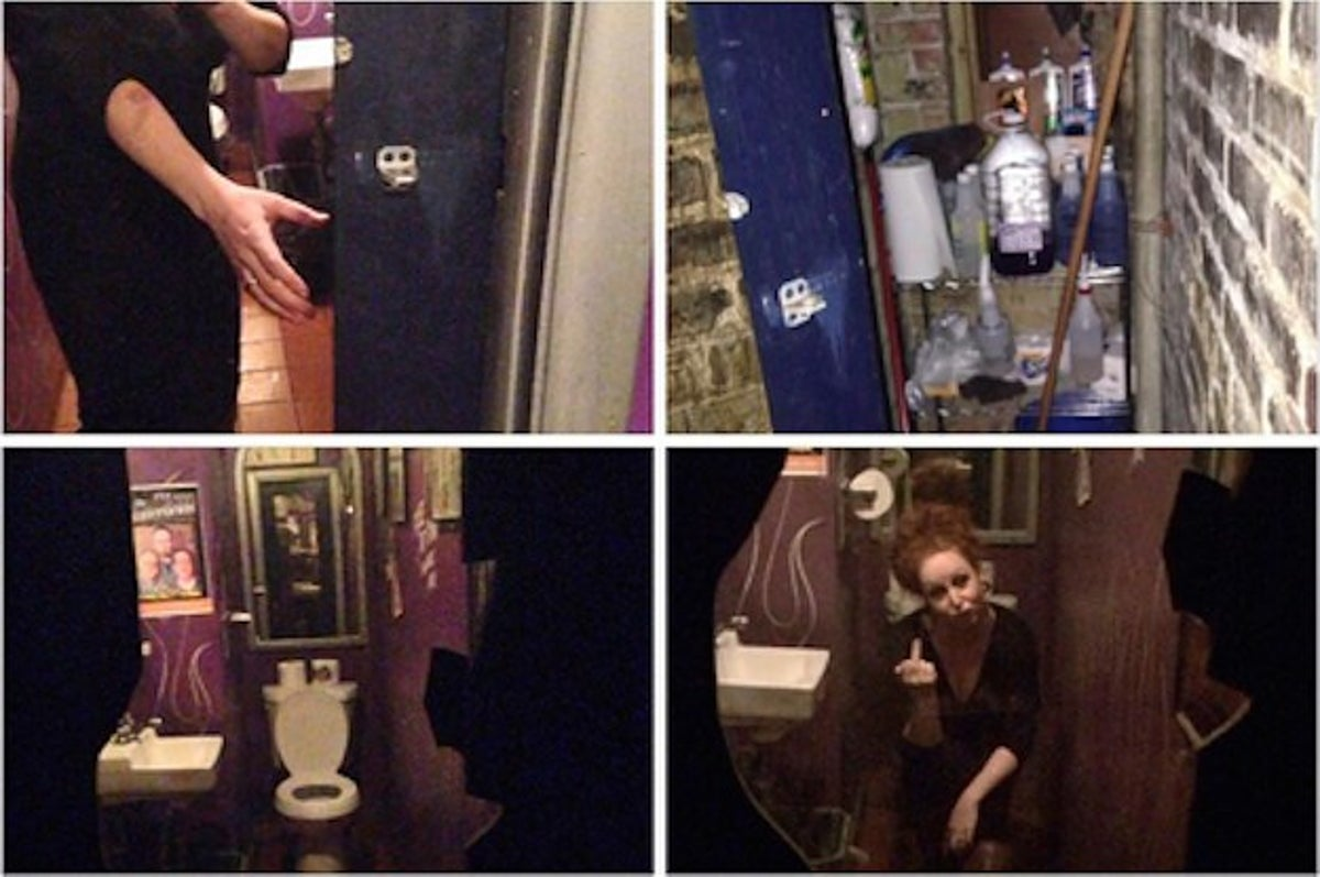 A Woman Discovered A Two Way Mirror In This Bar S Bathroom Owner Says It S There To Stay