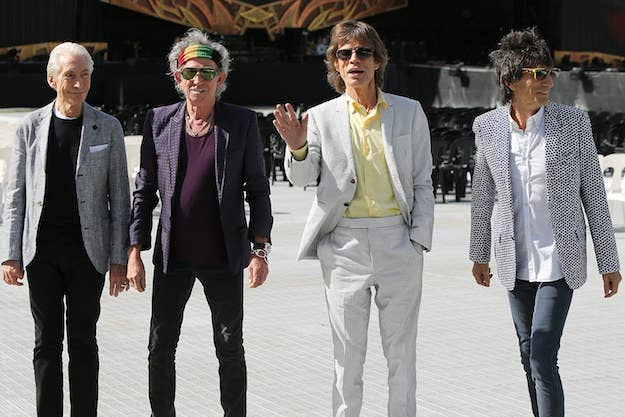 Hear A Never Before Released Version Of The Rolling Stones Cant