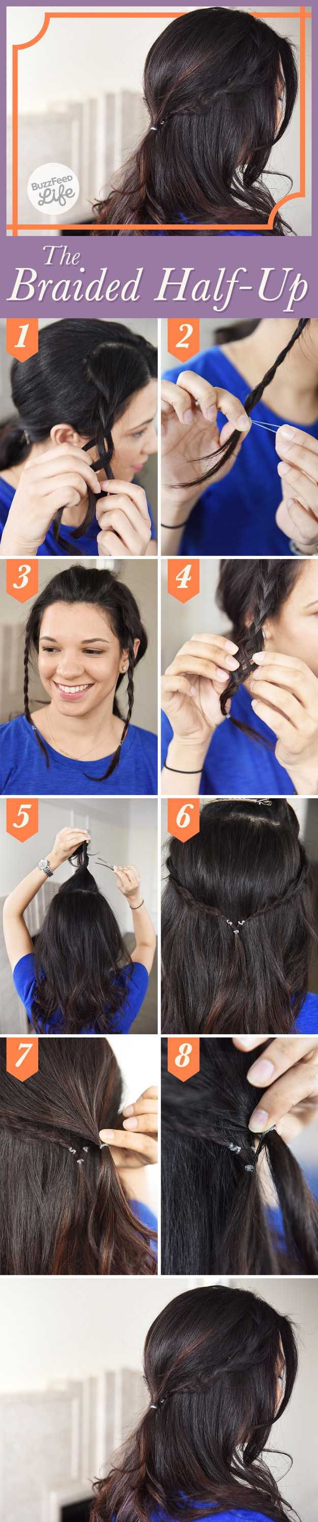 The Braided Half-Up