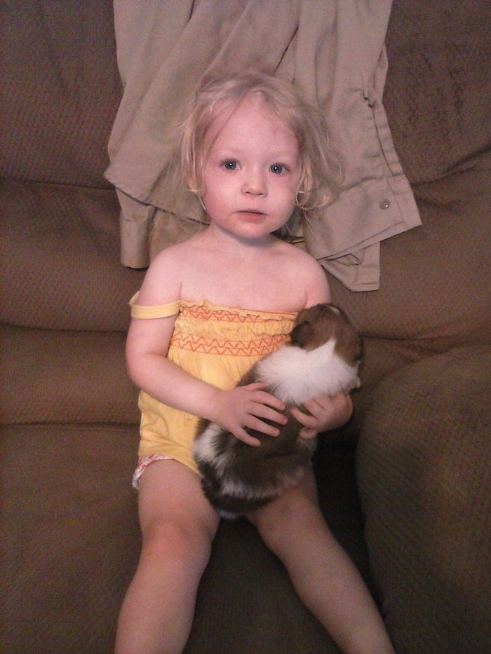 Two-year-old Alexandria Hill, who was killed by her foster mother in Texas in 2013