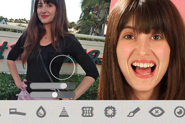 7 Women Photoshop Their Own Bodies On An App