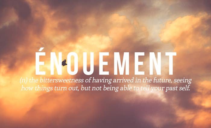 23 Perfect Words For Emotions You Never Realised Anyone Else