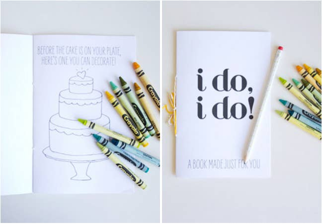 6 Give Kids This Wedding Themed Activity Booklet