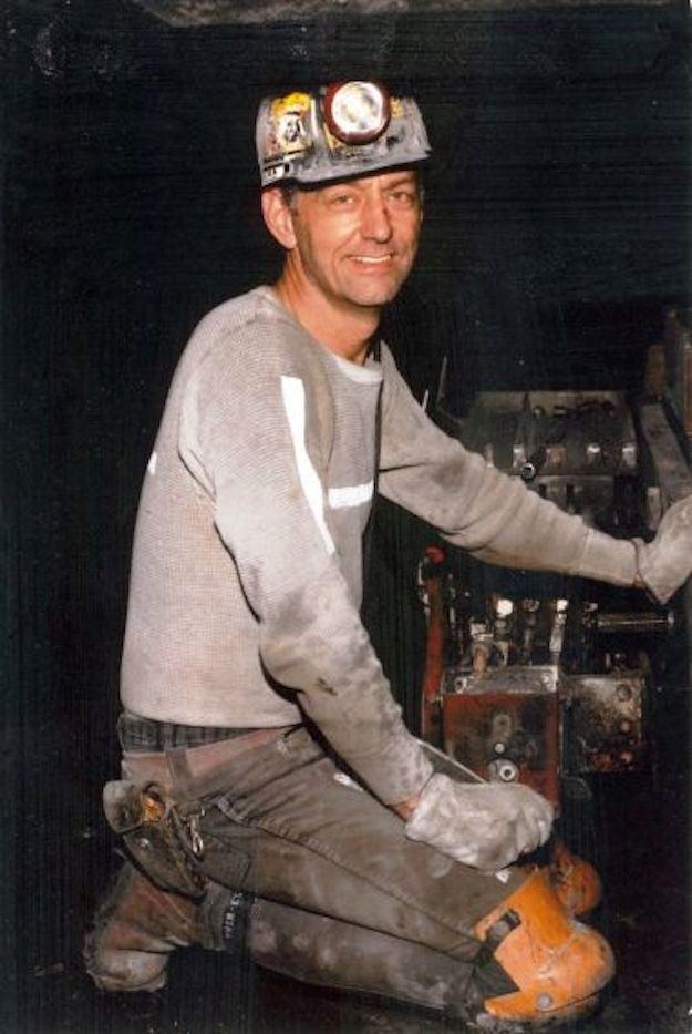 Coal miner Gary Fox.