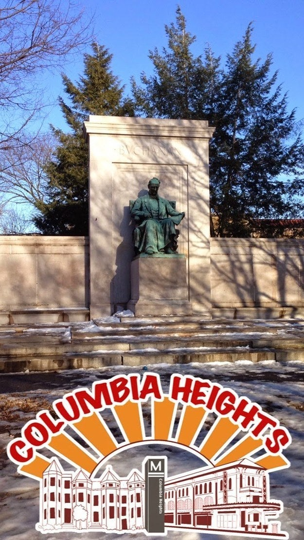 Geofilter for Columbia Heights, located in Columbia Heights, Washington D.C.