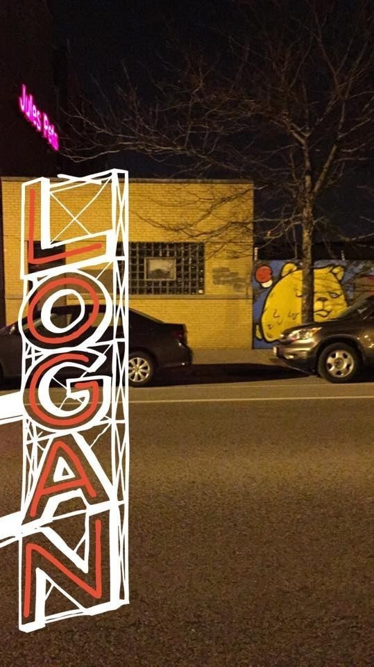 Geofilter for Logan Square, located in Chicago, Illinois.
