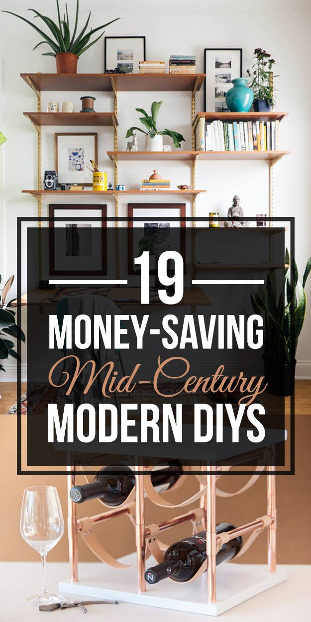 19 Mid Century Modern Diys That Will