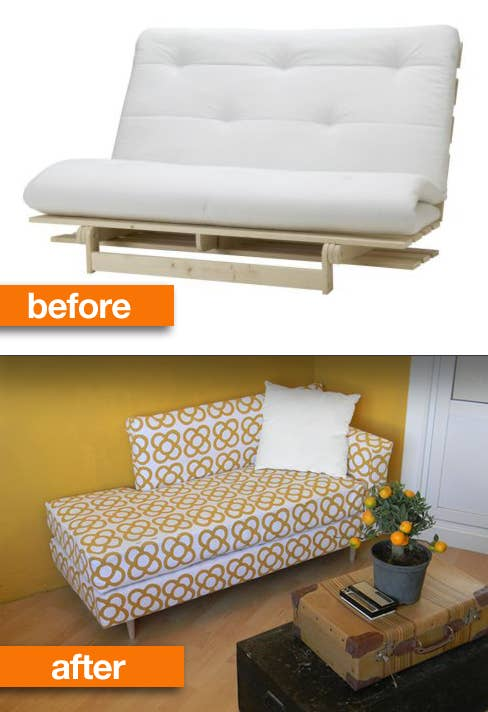 Or Turn A College Futon Into Modern Daybed