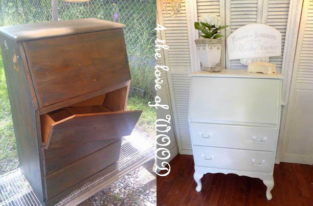 10. Use Legs To Upgrade Thrifted Furniture.