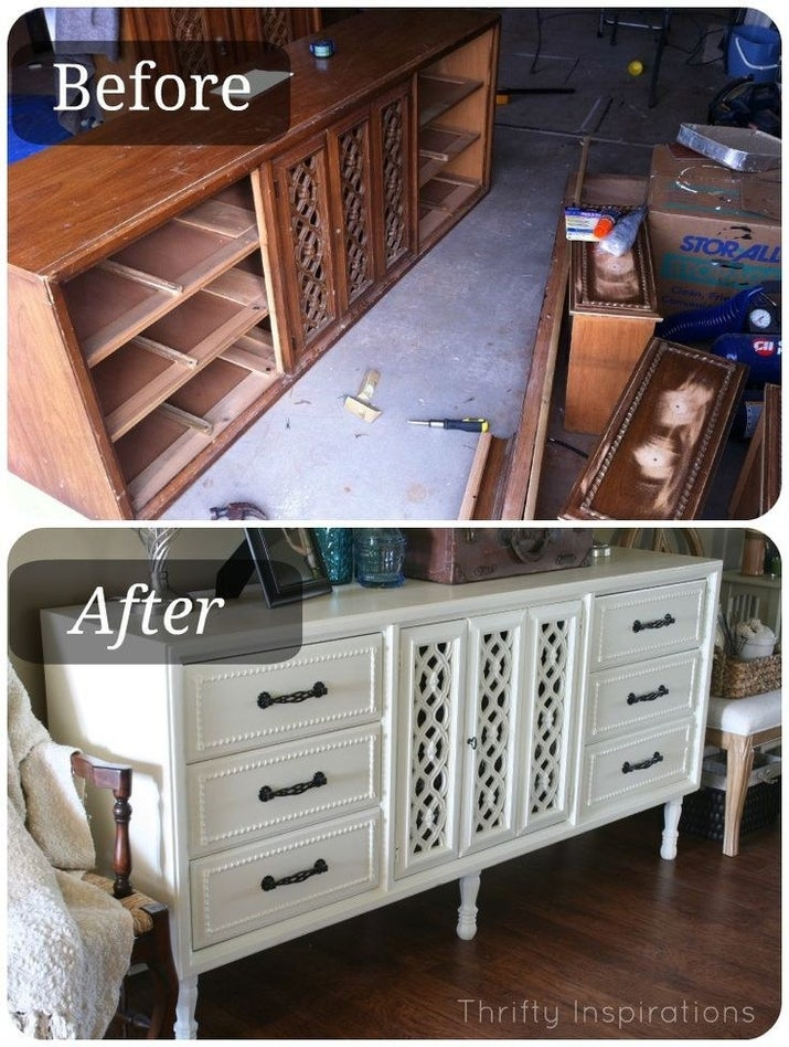 Furniture Legs Cabinets 19 furniture makeovers that prove legs can change everything