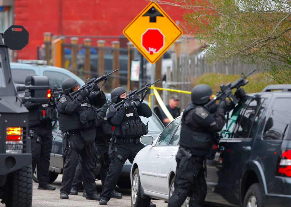 Report: Law Enforcement Lacked Weapons Discipline During Boston Bombing Manhunt