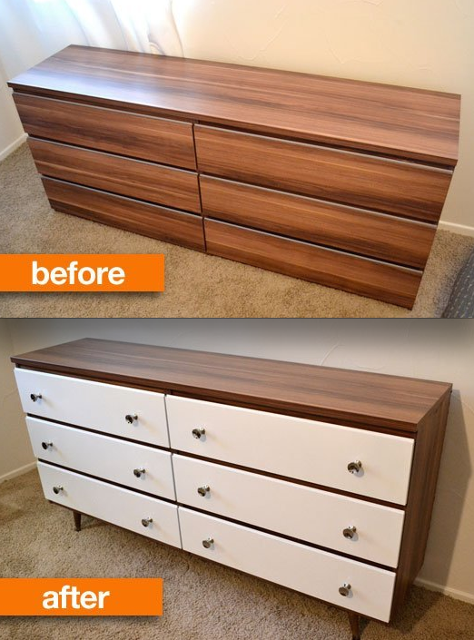 19 Furniture Makeovers That Prove Legs, How To Put Furniture Legs On Anything