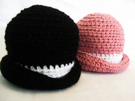 493b1ce3bbe Derby Hat. Perfect for an especially classy baby. Download the pattern here  for  4.99.