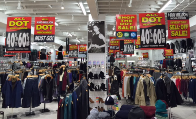 Internal american apparel data shows sales are slumping for Kmart shirts for employees